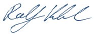 Ralf Klenk Signature (Graphic)